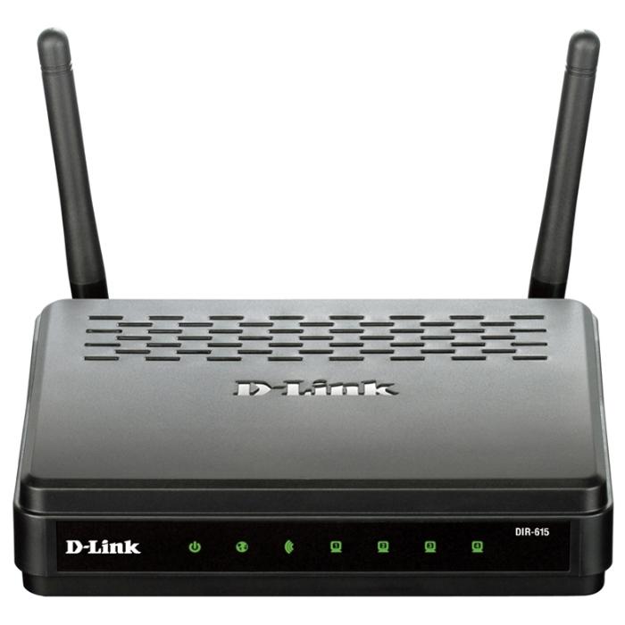 Беспроводной маршрутизатор D-Link DIR-615/FB1/U1A 802.11n 300Mbps 4xLAN WAN(SFP)