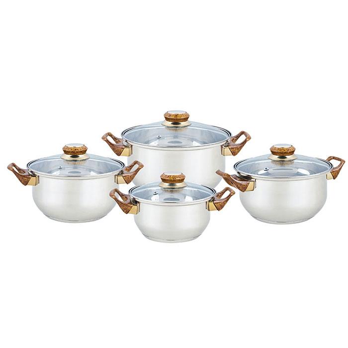 Набор посуды BEKKER Classic 8пр BK-4604