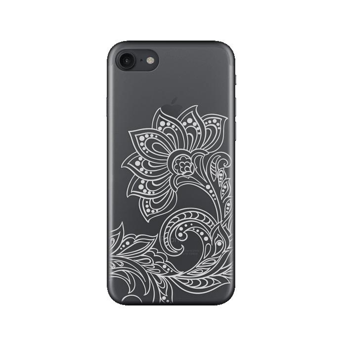 Чехол Deppa Art Case с пленкой для iPhone 7, Boho, Цветок