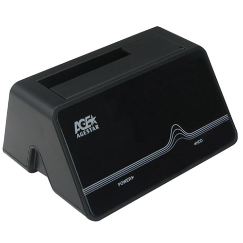 Док-станция для жестких дисков 2.5″ SATA-USB3.0 AgeStar 3UBT4 Black