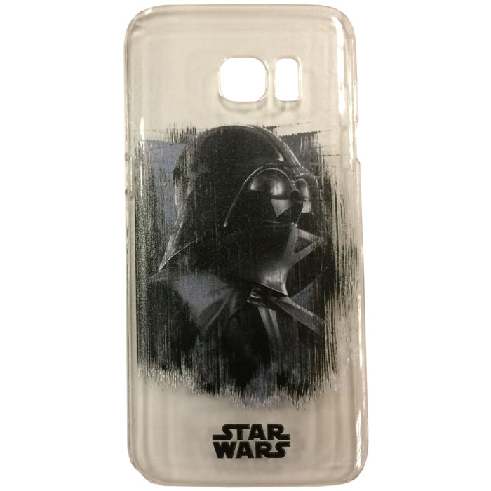 Чехол Deppa Art Case с пленкой для Samsung G935F Galaxy S7 edge, Star Wars, Изгой, Вейдер