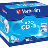 Оптический диск CDR Verbatim DL 700Mb 52x Jewel Case (43327)10шт
